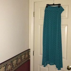 LulaRoe Maxi Skirt Size Large